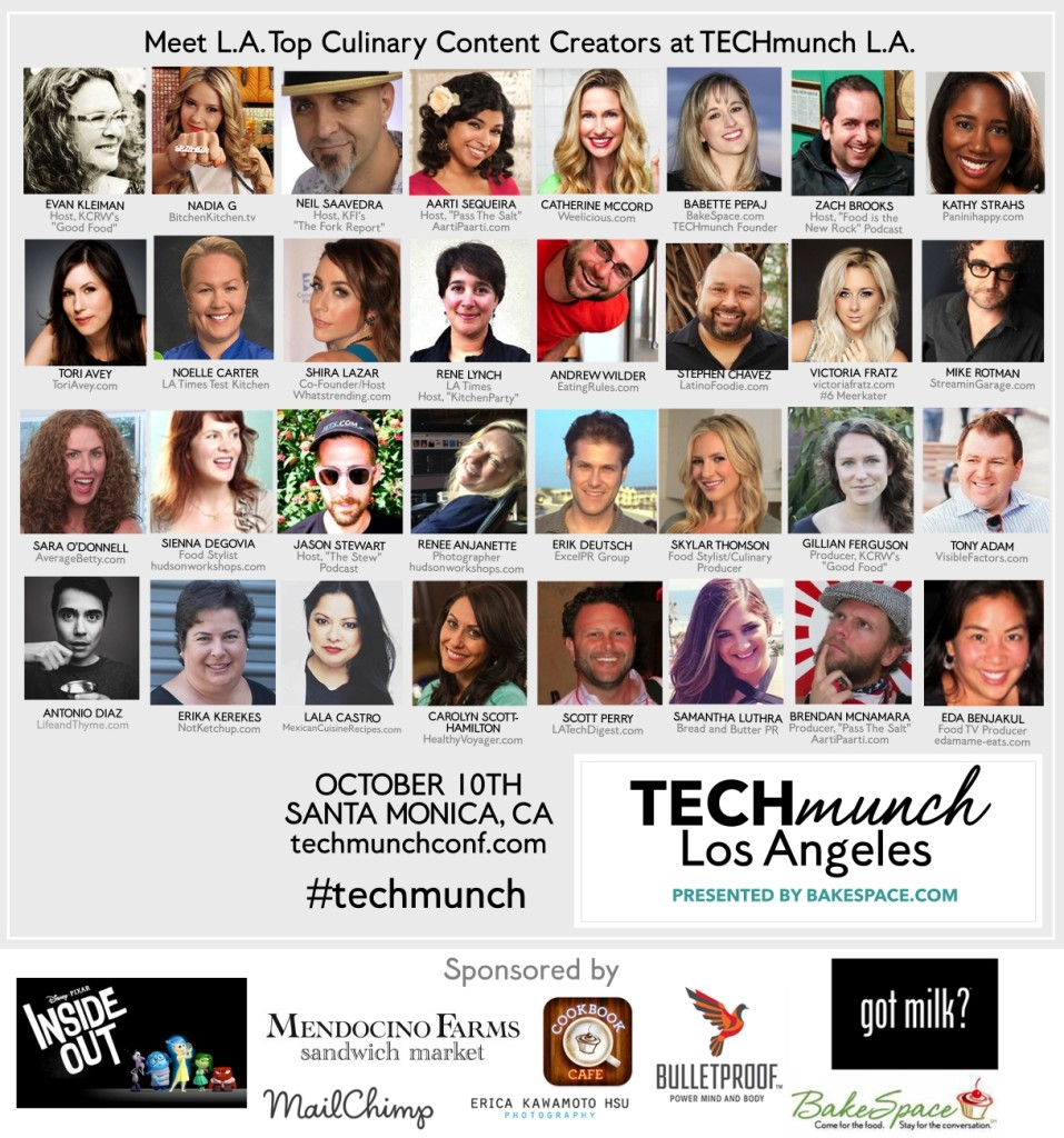 Techmunch LA Speakers