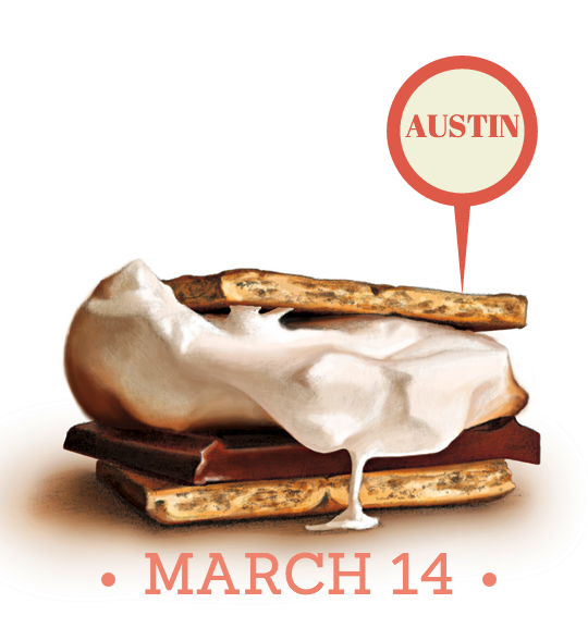 SXSW s'mores party
