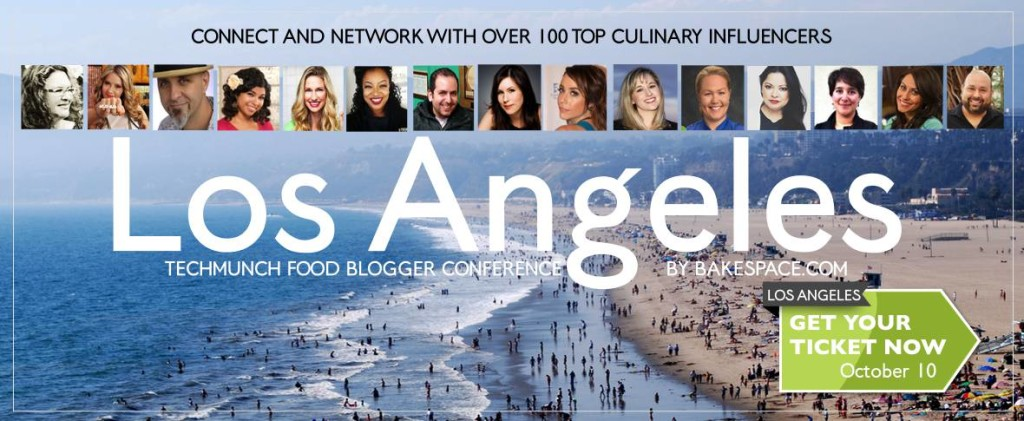 Join L A 's Top Food Bloggers at TECHmunch Oct  10